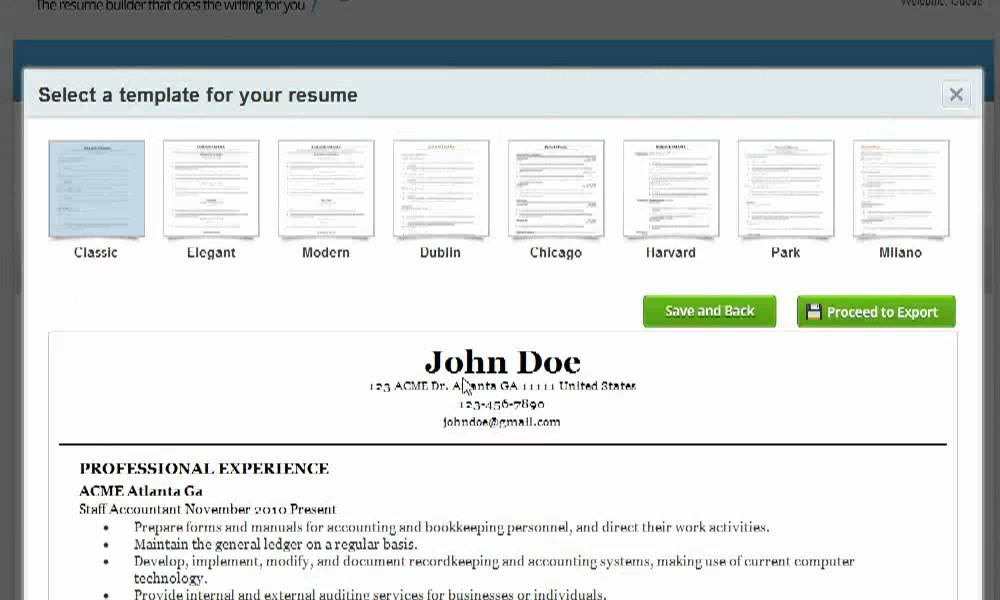 resume companion is it the best online resume builder - Resume Companion