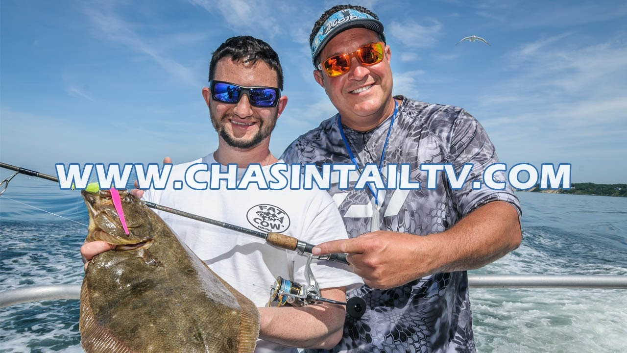 Fluke fishing tips w spro gamakatsu chasin 39 tail tv for Chasing tails fishing report