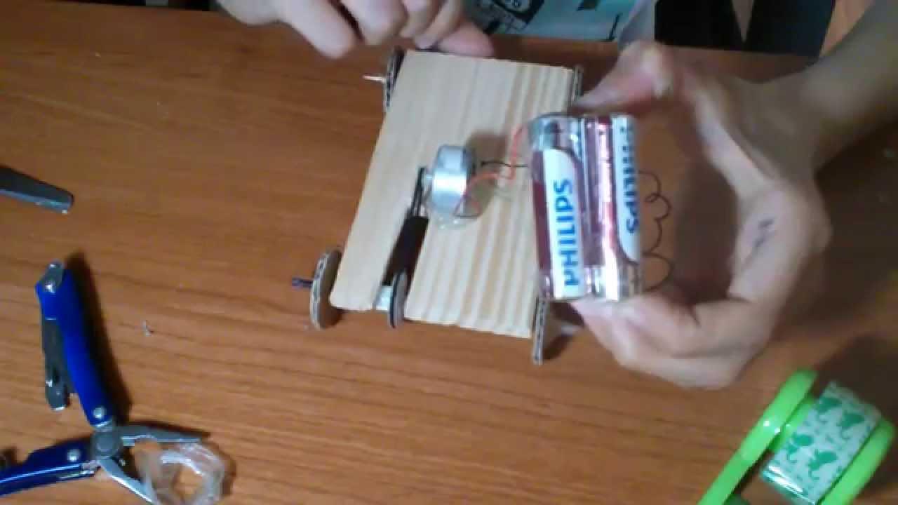Schema Elettrico Auto Per Bambini : Come fare una macchinina con un motorino youtube