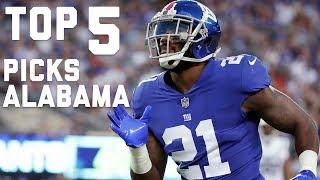 Top 5 Alabama Draft Picks Since 2000 | NFL Highlights