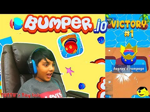 BUMPER.IO Gameplay || New io games for kids