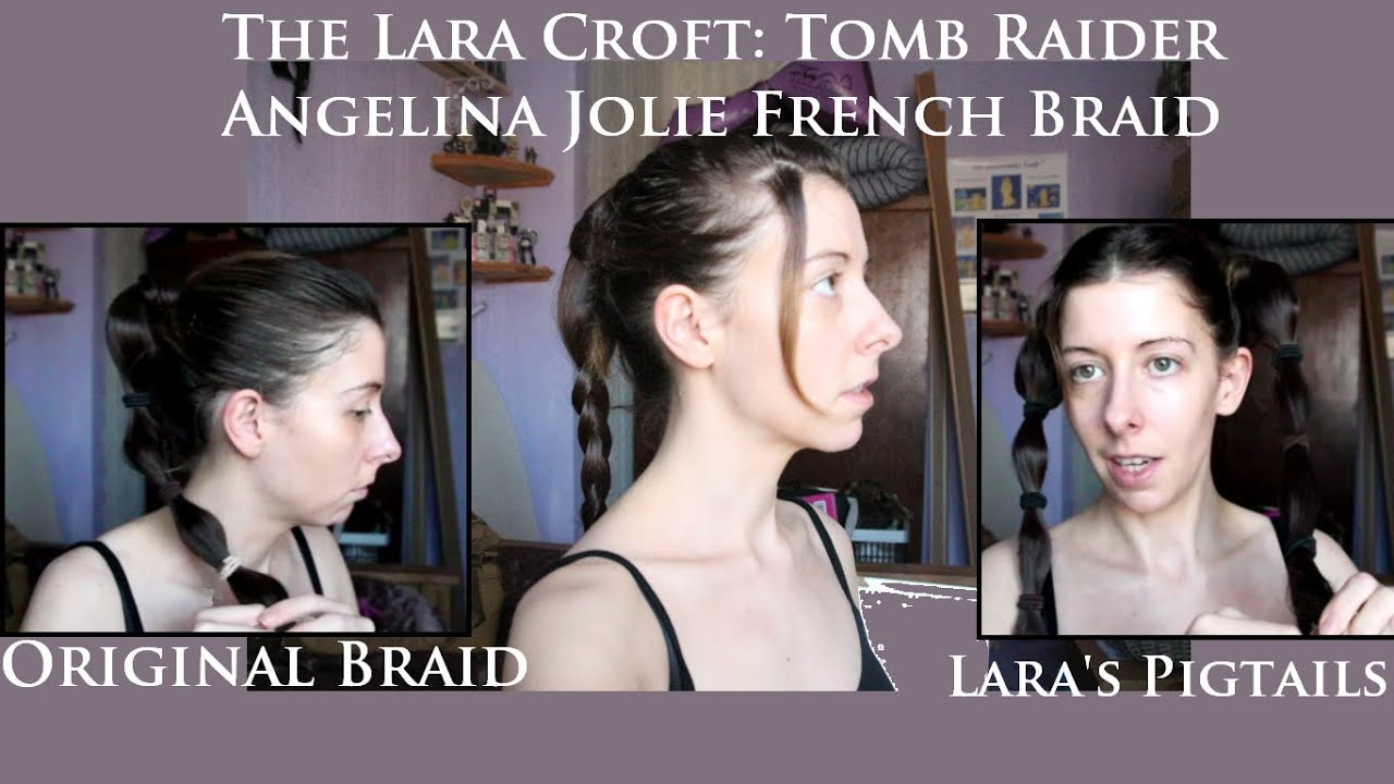 Lara Croft Tomb Raider 3 Classic Hair Styles Tutorial Cosplay