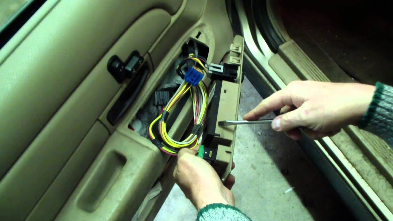 ford window switch repair instructions 2003 2008  [ 1280 x 720 Pixel ]