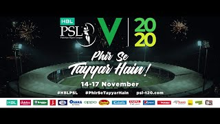 #PhirSeTayyarHain | HBL Pakistan Super League 2020 | TVC