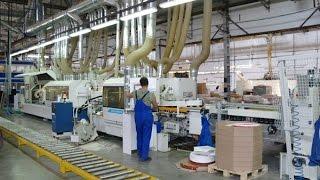 Производство мебели для ванных комнат на заводе Акватон(, 2015-08-17T07:34:44.000Z)