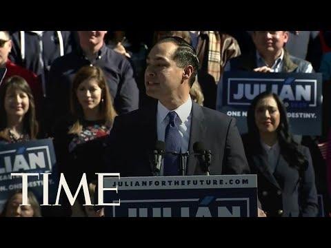 Former Obama Cabinet Member Julian Castro Joins The 2020 Presidential Race | TIME