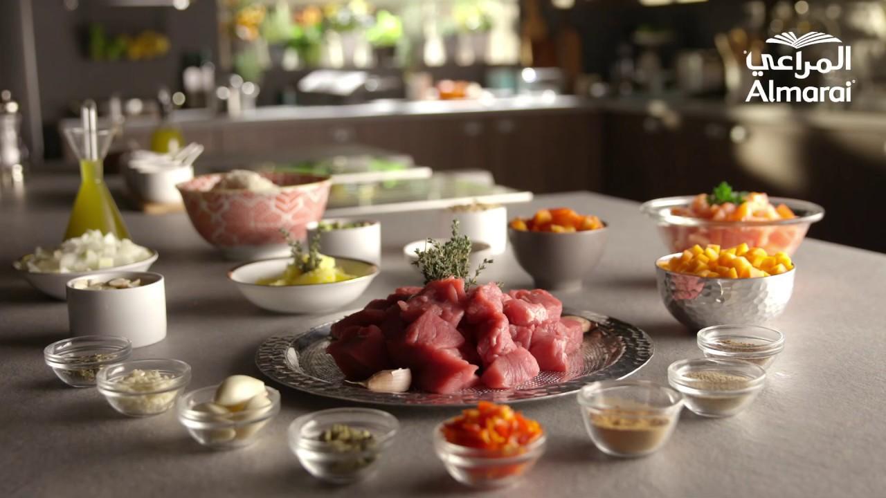 وصفة كبسة اللحم