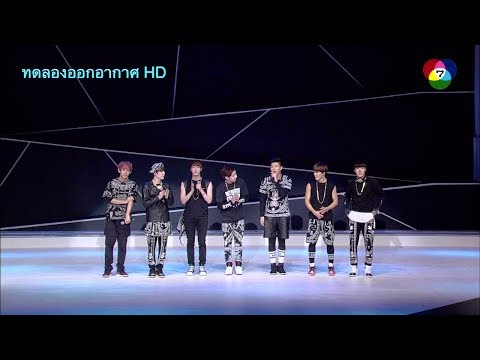 CH 7 Digital TV HD Test02 : BTS Bangtan Boys Live in Bangkok, Thailand TV rerun