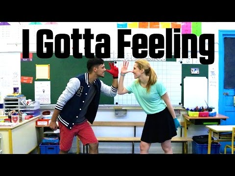 "Just Dance ""I GOTTA FEELING"" | Gameplay by DIEGHO SAN & DINA"