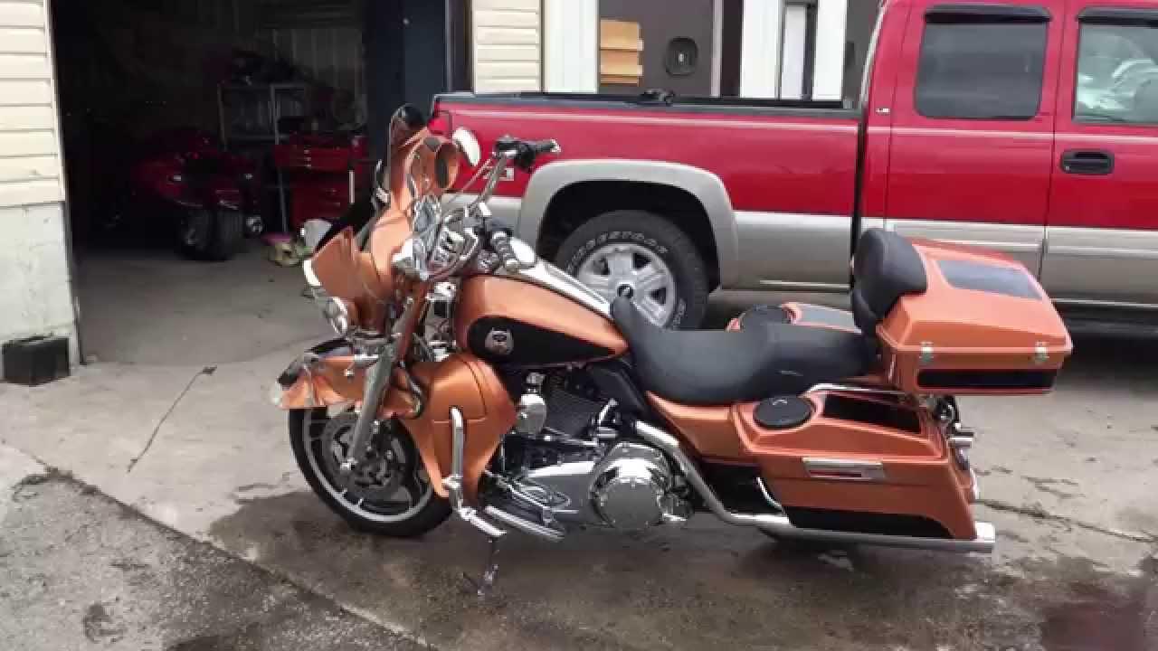 2008 Harley Street Glide Flhx 105th Anniversary Youtube