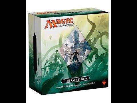 MTG Battle For Zendikar Gift Box Opening!!!!!! - YouTube