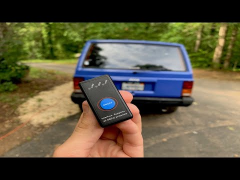 Check Engine Or Service Light On? Misfires? Try This Bluetooth OBD Scanner By Ainope Works Great!
