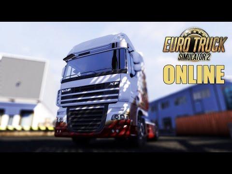 Euro Truck Simulator Multi player: Probando cositas