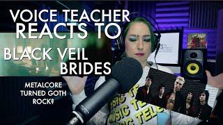 "Metal/Rock Vocal Coach reacts to Black Veil Brides ""Scarlet Cross"""