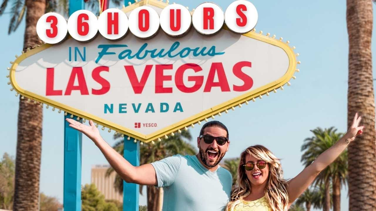 36 Hours in Las Vegas Travel Vlog   What To Do, See and Eat in Sin City