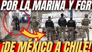 Marina Y FGR, Interceptan Carga DE APARENTES RESPALDOS AUTOMOTRICES En El Puerto De Manzanillo