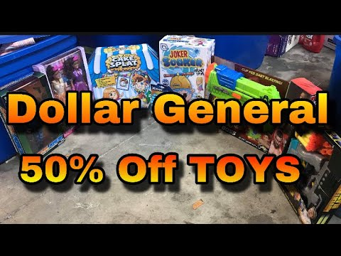 Dollar General 50% Off TOYS | Penny List 10/5 | Black Friday Deals
