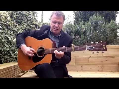 'vincent black lightning' richard thompson tuning ebgdgc.guitar is a yamaha fg180 played by dave t.