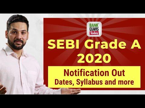 SEBI Officers Grade A 2020: Syllabus and Exam Pattern