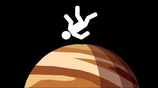 Что будет, если сесть на Юпитер | Перевод