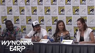 WYNONNA EARP   Katherine Barrell and Her Role as Nicole Haught - San Diego Comic-Con 2016   SYFY