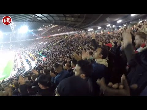 Man United 2-2 Arsenal | Gooners Take Over Old Trafford! | Stadium Cam