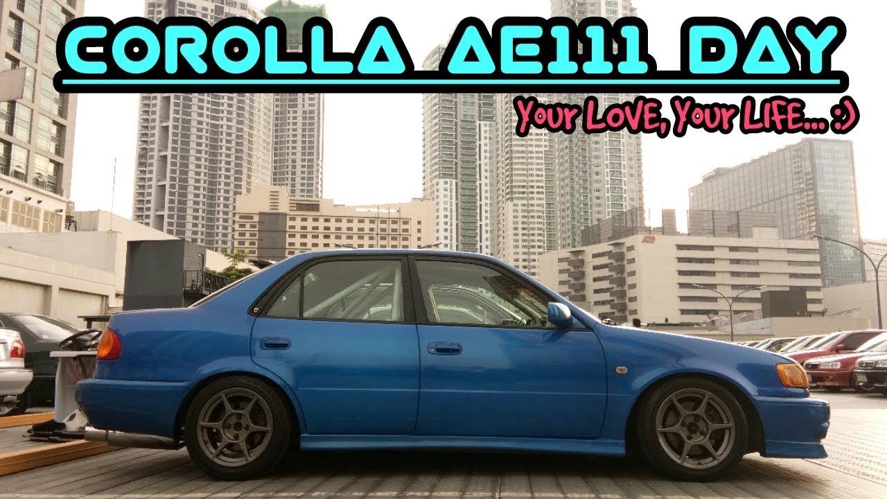 Toyota Corolla RXi AE111 :  SideHustleGarage Feature No. 5_ Imraan Mohamed  #TRD