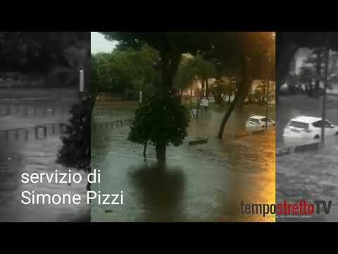 Reggio Calabria, Disastri Creati Dal Maltempo In Città