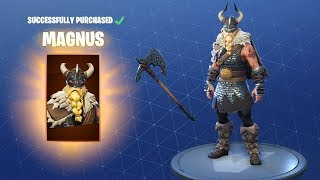 Fortnite - New Magnus Skin Gameplay
