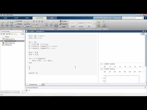 Introducing The MATLAB Live Editor