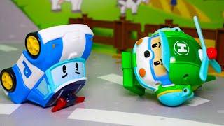 Мультик для малышей 2021 с игрушками Робокар Полли  Мультфильмы для самых маленьких все серии подряд
