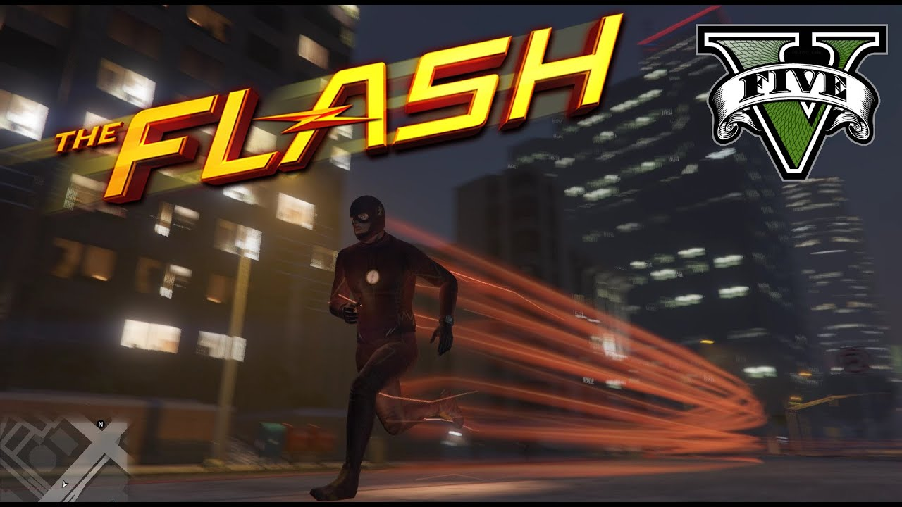 Grand Theft Auto 5 Mod Lets You Play As The Flash | ScreenRant
