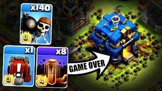 WHATS HAPPENS WHEN YOU USE ALL THREE OF THESE!? - Clash Of Clans