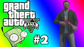 GTA 5 Online Funny Moments #2 - Farting around, Tank rampage, Long ass drive away from the cops