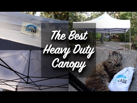 Best Heavy Duty Canopy / 10x10 CASCAD Canopy Review!