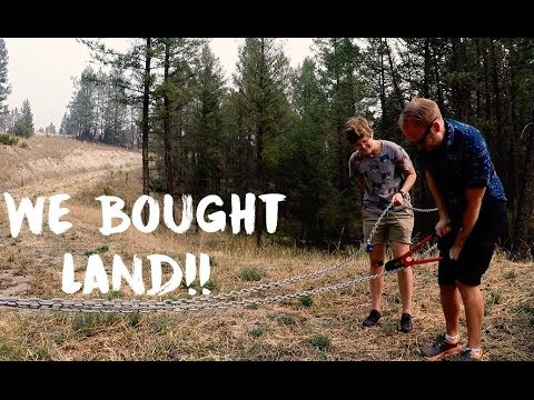 WE BOUGHT LAND IN INVERMERE BC!!