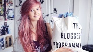 The Blogger Programme Goodie Bag Unboxing Thumbnail