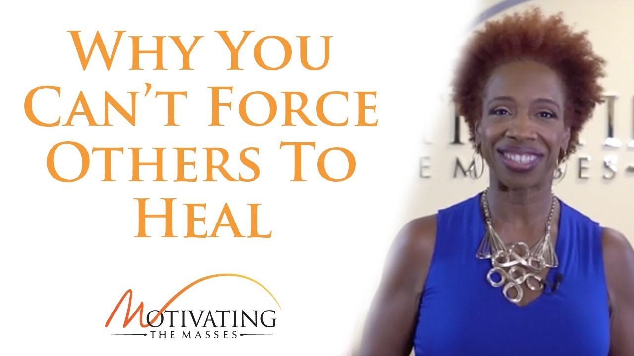 Lisa Nichols - Why You Can't Force Others To Heal