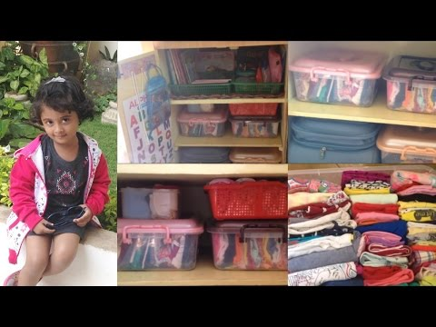INDIAN WARDROBE TOUR - KIDS EDITION II KIDS WARDROBE ORGANISATION II