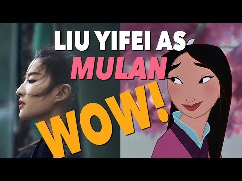 Disney's Live Action Mulan with Liu Yifei! WOW!
