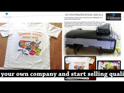 Diy dtg printer shipping to usa 2 doovi for Printing your own t shirts at home