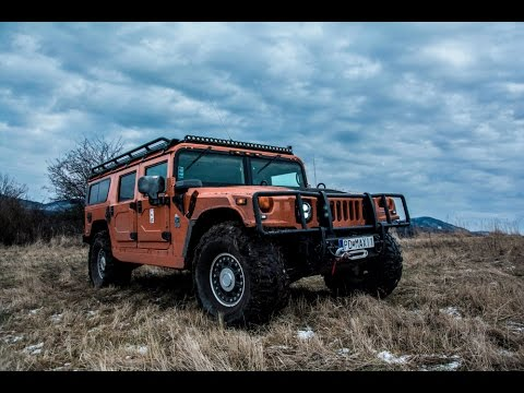 Hummer H1 Alpha Offroad Fun:) - YouTube
