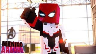 Minecraft: MENINO ARANHA - TESTEI A MÁQUINA DO TEMPO!!! (ULTIMATO) #360
