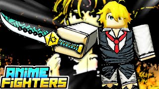 🔴A New 7 DEADLY SINS Map is Coming to the UPDATE 10! Anime Fighters Live Stream !