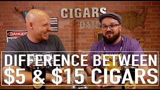 The Difference between a $5 Cigar and $15 Cigars (f. Nick Melillo, owner of Foundation Cigars)