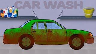 Машинки. Автомойка. Мультики про Легковой Автомобиль. Car Wash. Videos for children(Мультяшные машины для малышей: Мультик про машинку на Автомойке. Красивый зеленый легковой автомобиль..., 2015-08-26T22:44:28.000Z)