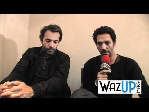 Interview de Tomer Sisley et Frédéric Jardin - WAZUP MAG