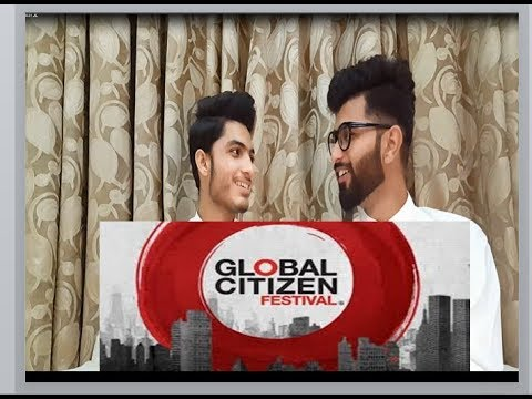 Pakistani reacts on global citizen festival India 2018 || ars reactions ||