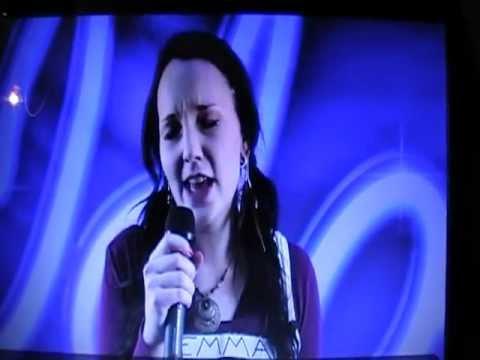Emma Vaattovaara koelauluissa (Idols 2012)