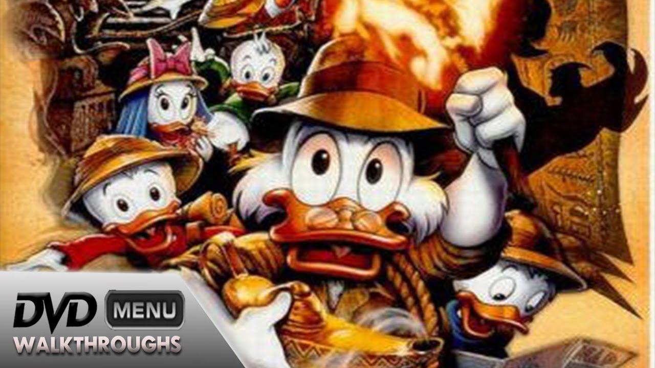 Charming DuckTales The Movie Treasure Of The Lost Lamp (1990, 2014) DvD Menu  Walkthrough